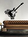 Muzică / Forme Perete Postituri Autocolante perete plane,vinyl 43*46cm