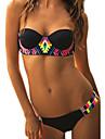 Bikini (Polyester) Feminin - Fără Întăritură/Sutiene cu Bureți - Bustieră