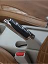 nouvelles poignees de frein a main voiture ABS noir + strass couvercle de frein a main la decoration