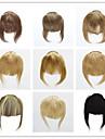 信託 Clip In 人間の髪の拡張機能 ストレート クラシック 人毛 バング ナノヘアエクステンション Nano ベージュブロンド / ブリーチブロンド