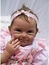 NPKCOLLECTION NPK DOLL Reborn-dukker Baby 22 inch Silikone Vinyl - Nyfødt livagtige Nuttet Håndlavet Børnesikker Ikke Giftig Børne Pige Legetøj Gave / Smuk / CE / Hånd Anvendte -jenvipper