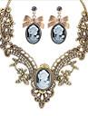Set bijuterii - Zirconiu Cubic Vintage, Petrecere, Birou Include Camel Pentru Petrecere / Ocazie specială / Aniversare / Σκουλαρίκια / Coliere