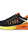Bărbați Primăvară Vară Toamnă Iarnă Confortabili Pantofi la Modă Tul Outdoor Casual Atletic Toc Plat Dantelă Albastru Roșu Orange
