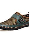 Bărbați Pantofi Piele / Tul Primăvară / Vară / Toamnă Confortabili / Gladiator / Pantofi Skate Mocasini & Balerini Gri / Maro / Verde