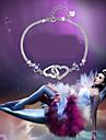 Dame Brățări cu Lanț & Legături Brățări cu Talismane La modă costum de bijuterii Plastic Ștras Iubire Bijuterii Pentru Nuntă Petrecere