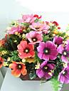 Flori artificiale 1 ramură Pastoral Stil Floarea soarelui Față de masă flori