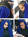 Gris / Bleu / Violet La Havane Tresses Twist Extensions de cheveux 22inch Kanekalon 2 Brin 120g/pcs gramme Braids Hair