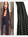 #1 Box Tresses Tresses Twist Extensions de cheveux 20 Kanekalon 3 Brin 120G gramme Braids Hair