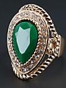 Inele Afirmatoare Zirconiu Cubic Aliaj La modă Bohemia Stil Rosu Verde Bijuterii Petrecere 1 buc