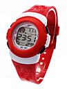Kid\'s Ladies Sport Watch Fashion Watch Digital Watch Japanese Digital Black / Blue / Red 30 m Alarm Calendar / date / day Chronograph Digital Cool - Black Red Blue One Year Battery Life / LCD