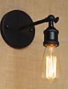 AC 100-240 40 E26/E27 Rustik Målning Särdrag for Glödlampa inkluderad,Stämningsljus Vägglampetter vägg