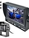 """renepai® 7 """"tft culoare oglinda parcare auto ecran LCD vedere din spate de rezervă monitor + noapte viziune aparat de fotografiat kit"""