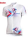 TASDAN Femme Manches Courtes Maillot de Cyclisme Velo Maillot / Ensemble de Vetements, Sechage rapide, Resistant aux ultraviolets,