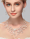 Women\'s Others Jewelry Set Earrings / Necklace - Regular Silver For Wedding / Party / Special Occasion