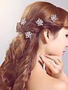 Stratul de păr din aliaj de păr stras clasic feminin stil