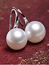 Cercei Stud Perle Imitație de Perle Aliaj Argintiu Auriu Bijuterii Pentru Petrecere Zilnic Casual 1 pereche