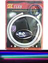 KWB Flexibla LED-ljusslingor 120 lysdioder Vit Bärnstensfärg Rosa Grön Gul Blå Röd Vattentät Självhäftande Lämplig för fordon DC 12V DC