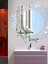 Botanic / Romantic / Oglinzi / Modă / Florale / Forme / Vintage / #D Perete Postituri 3D Acțibilduri de Perete,Acrylic crystal 46*46CM