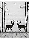 Abstrakt Landskap Mode Former fantasi Väggklistermärken Väggstickers Flygplan Dekrativa Väggstickers, Vinyl Hem-dekoration vägg~~POS=TRUNC