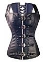 femei corset, piele brevetată