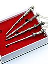 häxa Mer accessoarer Film-cosplay Silver Mer accessoarer Dekorativa Halsband Halloween Nyår Legering
