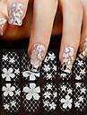 Nail Art-klistermärken makeup Kosmetisk Nail Art-design