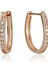 Dame Cercei Rotunzi  Pietrele Lunilor costum de bijuterii Plastic Bijuterii Pentru Nuntă Petrecere Zilnic Casual