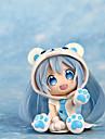 Anime de acțiune Figurile Inspirat de Cosplay Snow Miku PVC 7 CM Model de Jucarii păpușă de jucărie