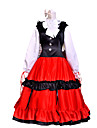 Inspirat de Hetalia Elisabeta Héderváry a Ungariei Anime Costume Cosplay Costume Cosplay Peteci Manșon Lung Rochie Accesoriu de Păr Pentru