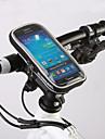 ROSWHEEL Sacoche de Guidon de Velo Sac de telephone portable 4.8 pouce Zip etanche Vestimentaire Resistant a l\'humidite Resistant aux