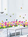 Animaux Nature morte Mode Floral Botanique Bande dessinee Loisir Stickers muraux Autocollants avion Autocollants muraux decoratifs, PVC