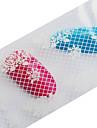 1 Autocollant d\'art de clou Autocollants de transfert de l\'eau Maquillage cosmetique Nail Art Design