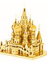 قطع تركيب3D تركيب معدني مجموعات البناء قصر المعدنية للصبيان للفتيات ألعاب هدية