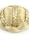 kinky lockigt guld europa brud människohår Capless peruker chignons sp-189 1003
