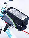 ROSWHEEL Sac de cadre de velo Sac de telephone portable 4.8 pouce Resistant a l\'humidite Zip etanche Vestimentaire Ecran tactile