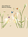 Nature morte Mode Floral Mots& Citations Loisir Botanique Stickers muraux Autocollants avion Autocollants muraux decoratifs, Vinyle