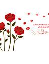 Stilleben Romantik Mode Blommig Botanisk Tecknat Fritid Väggklistermärken Väggstickers Flygplan Dekrativa Väggstickers Bröllopstickers,