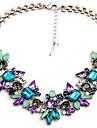 Dame Coliere cu Pandativ Teracotă Aliaj La modă Plin de Culoare costum de bijuterii Bijuterii Pentru Nuntă Petrecere Zilnic Casual