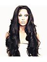 vågig främre spets människohår peruker brasilianska jungfru hår billiga peruker 130% densitet