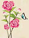 Animale / Botanic / Natură moartă / Modă / Florale / Timp Liber Perete Postituri Autocolante perete plane,PVC 70*50*0.1