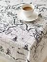 Cuir Carre Nappes de table Avec motifs Economique Decorations de table