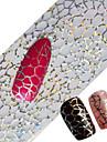 1 Neglekunst Klistermærke Hel Negle Tipper Negle Smykker Andre Dekorationer Tegneserie Abstrakt Smuk Bryllup Makeup KosmetikNeglekunst