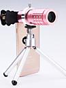 universal lentilă 12 × telescop pentru telefoane mobile iPhone / Samsung argint / aur / trandafir / negru