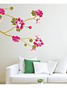 Floral Contemporan Autocolant Geam Material fereastra de decorare