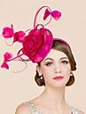Femei Fata cu Flori Pană In Diadema-Nuntă Ocazie specială Informal Pălărioare Pălării/Căciuli 1 Bucată