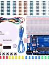uno projekt grundläggande startpaket med handledning och uno r3 för Arduino