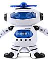 Robot Eclairage LED Jouets Musique En chantant Danse Marche Rotation 360° Multi Fonction Fille Garcon 1 Pieces