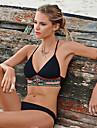 Femei Bikini Femei Cu Susținere Boho Polyester