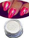 1 Akrylpulver Puder Akryl Kit Nail Glitter Ljus Blank Nail Art Design