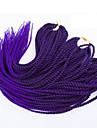Senegal 100% Kanekalon-hår twist Flätor Hårflätor 20
